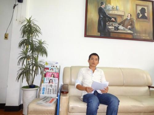Ông Lương Hiền Duy – giám đốc công ty thám tử Lương Gia.